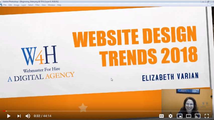 Top 5 Trends for Website Design 2018 1