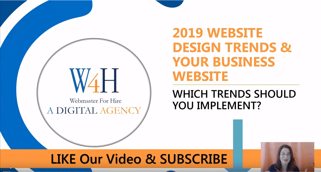 2019 Website Design Trends and Your Business - Part 2 1