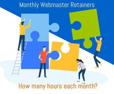 Webmaster Services - Monthly Retainer Program