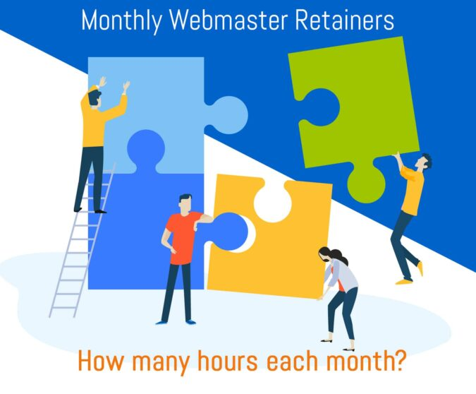 Webmaster Services - Monthly Retainer Program